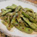 フライパンで簡単!  焼き枝豆