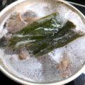 牛すじ肉の煮込み①(1日目-下ゆで)