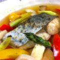 しっとり食感!サワラと彩り野菜の焼き浸し